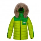 POIVRE BLANC Куртка пуховая 240784 (acid green)