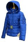 Куртка подростковая для девочки 240719(chines blue)