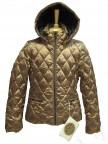 Куртка пуховая для девушки 237966 (CARAMEL GLACE)