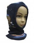 Шлем демисезонный для мальчика 304600(0048)