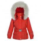 POIVRE BLANC Куртка мембранная для девочки 246607(cherry red)
