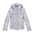 Куртка мембранная для девочки 246610(cloud silver)