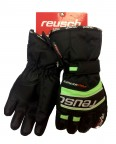 REUSCH  Перчатки Ski Race R-TEX XT Junior 4261211 black /neon green