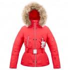 Куртка подростковая для девочки 263613(scarlet red)