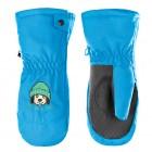 Варежки с молнией для мальчика 263789 (PERSIAN BLUE)