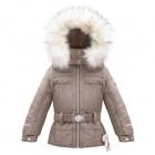 Куртка мембранная для девочки 263663(dove brown)