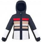 Куртка подростковая для девочки 268755(gothic blue2/multico