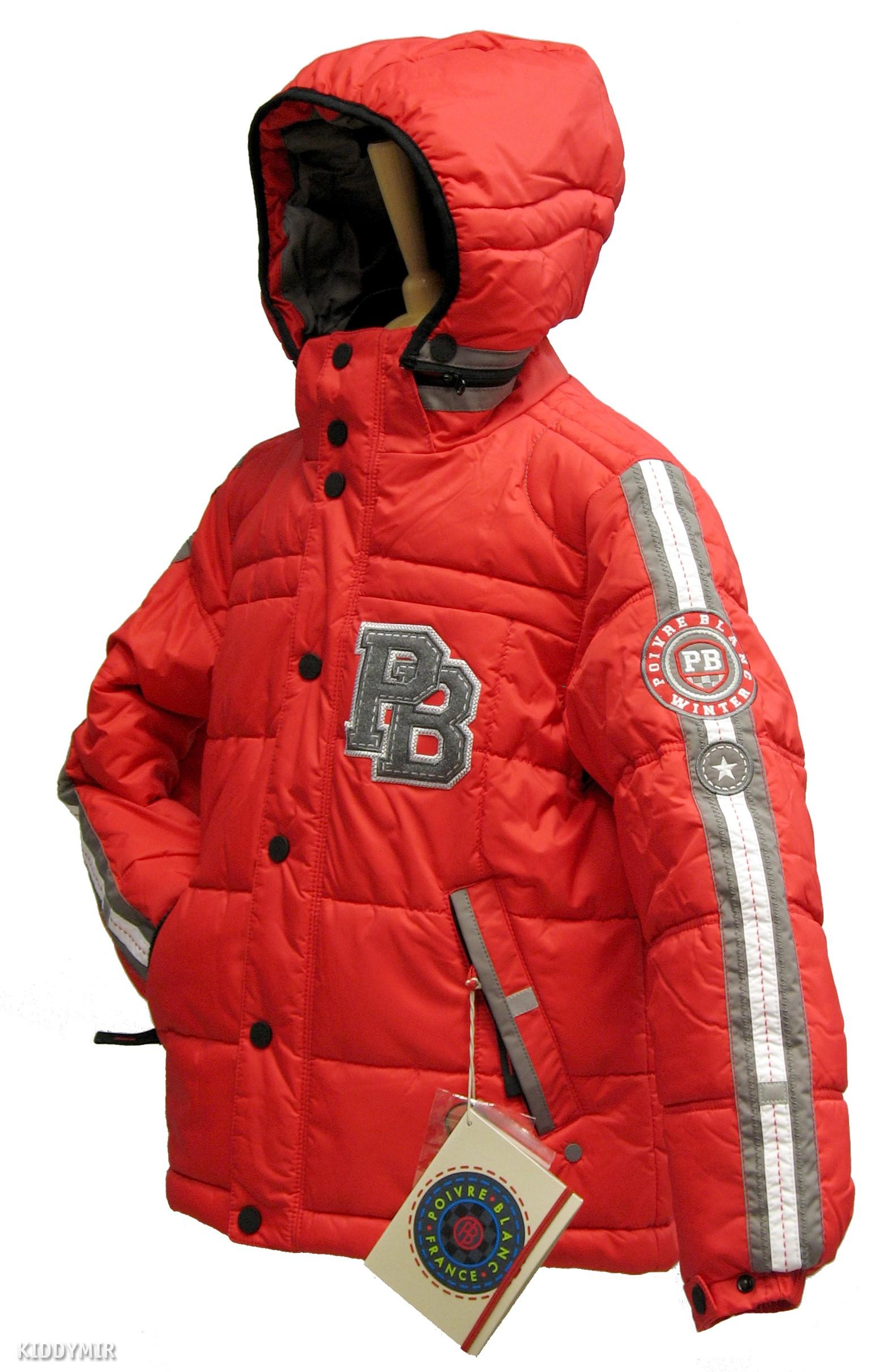Куртка подростковая для мальчика EDDIE 237982 (ROUGE ) POIVRE BLANC 25e42d9fb14