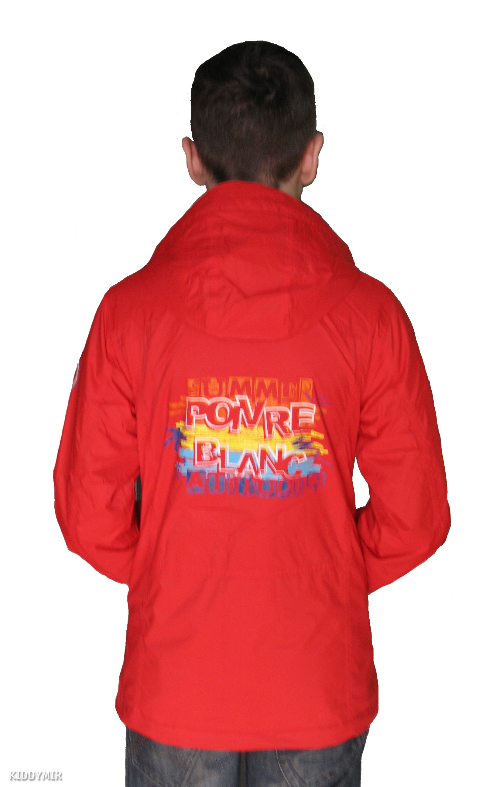 POIVRE BLANC Куртка для мальчика демисезонная 239423(RED ROUGE) ab35fe00dd2