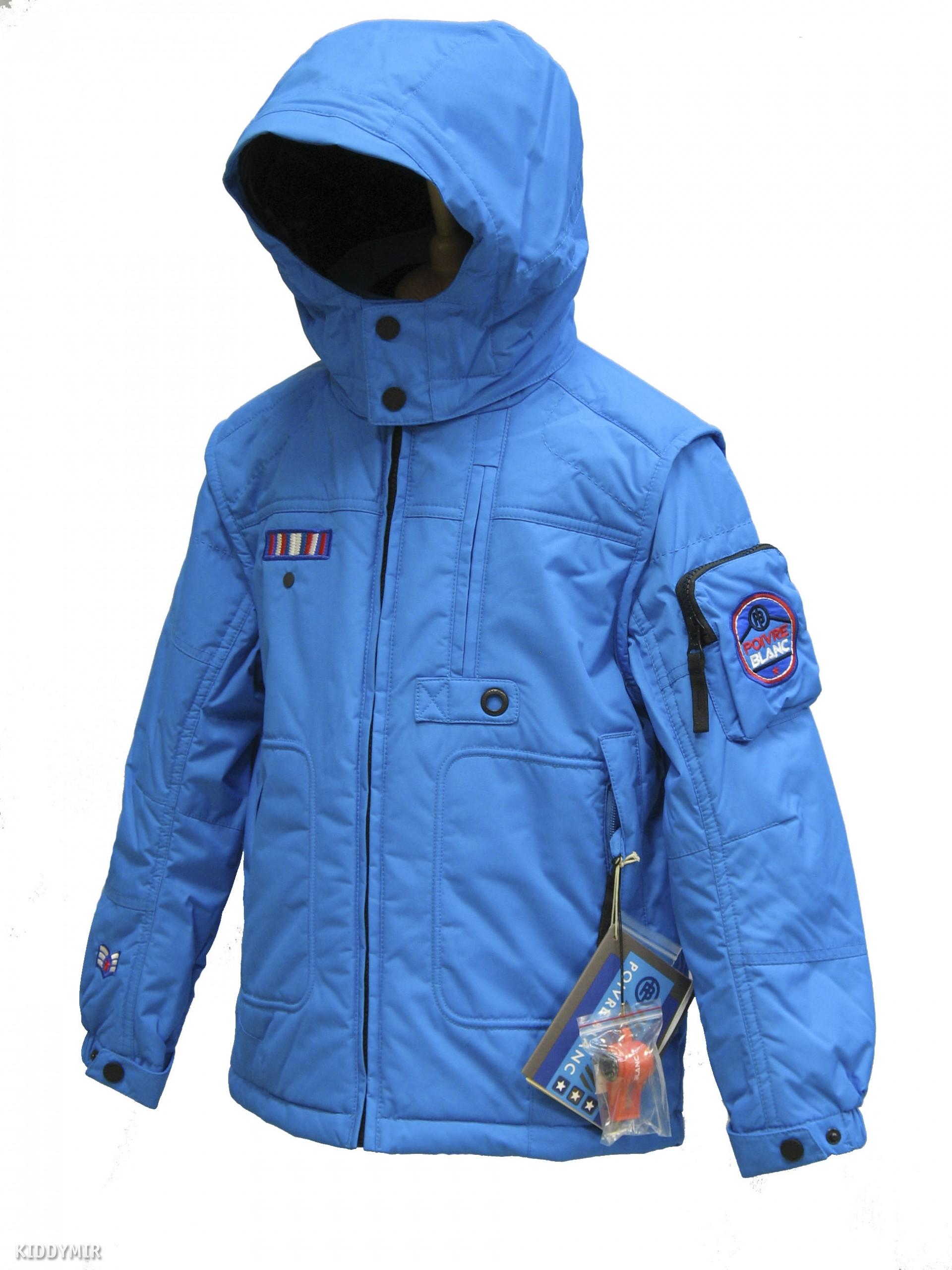 POIVRE BLANC Куртка мембранная для мальчика 240744(CARAIBES) 04f534914f3