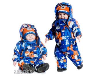 Какими бывают зимние куртки для детей?