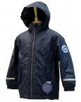 куртка утепленная для мальчика 239409(blue profond) темно-синяя
