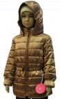 Куртка для девушек демисезонная 239514(CARAMEL GLACE GOLD)