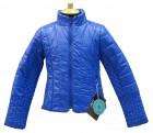 куртка- пиджак для девочек 238004(blue horizon) ярко-синяя