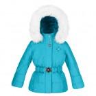 куртка мембранная для девочки 240757(blue lagune) бирюзовая