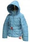 Куртка подростковая для девочки 240719(blue lagune)