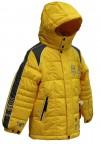 куртка зимняя для мальчика 240779(taxi lellow) желтая