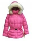 Куртка пуховая для девочек 240770(flash pink)