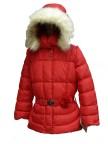 Куртка пуховая для девочек 240770 (coral pink)