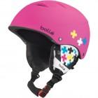 Шлем подростковый B-FREE 30994 SOFT PINK CROSS