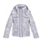 куртка мембранная для девочки 246610(cloud silver) белая