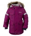 куртка удлиненная детская nokosi 501059 (196) темно-сиреневая