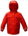 Удлиненная куртка для мальчика 241187(TRUE RED))