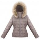 Куртка подростковая для девочки 263617(dove brown)