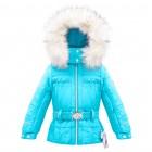 куртка мембранная для девочки 263663(azure blue) голубая