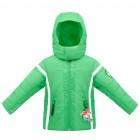 куртка горнолыжная для мальчика 263685(glover green) зеленая