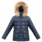 POIVRE BLANC Куртка пуховая 263656 (gothik blue)