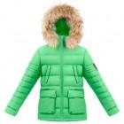 Куртка пуховая 263656 (clover green)