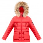 Poivre Blanc Куртка пуховая 263656 (scarlet red)