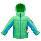 куртка со снежной юбкой  для мальчика 263686(glover green) зелен