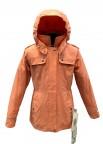 куртка удлиненная для девочки 266727(персиковый)