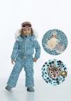 Комбинезон  для девочки 268799(dream blue leopard)