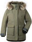 DIDRIKSONS   Куртка для девушки HEIJKENSKJOLD 501901(161)серо-зелёный