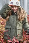 Куртка детская HEIJKNSKJOLD 501886(161) серо-зелёный