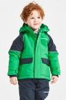 Didriksons Куртка детская ese 501849 (019) изумрудно-зеленый