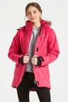 Didriksons Куртка для девушки SASSEN 501953(169) розовый