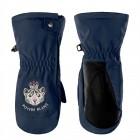 POIVRE BLANC Варежки с молнией для девочки 268858 (gothic blue2)