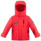 куртка с брелоком  для мальчика 268815(scarlet red2) красная
