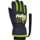 REUSCH Перчатки детские 4885105(955) dress blue safety yellow