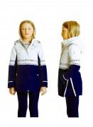 POIVRE BLANC Куртка для девочки демисезонная 271707(beel grey/blue sea)