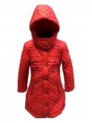 Пальто для девушек демисезонное 271708(spritz red)