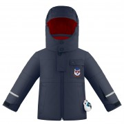 куртка мембранная  для мальчика 274083(gothic blue3) темно-синяя