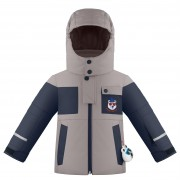 куртка комбинированная  для мальчика 274083(soba brown/gothic bl