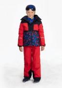 Куртка мембранная для мальчика 274041gothic blue3/camou multi)
