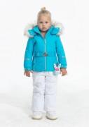 куртка мембранная для девочки 274058(aqua blue) голубая