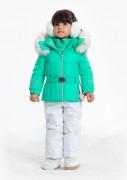 куртка мембранная для девочки 274060(emerald green) зелёная